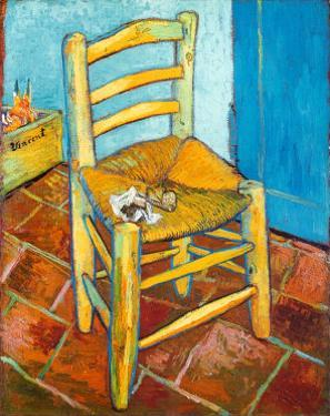 Chair with Pipe by Vincent van Gogh