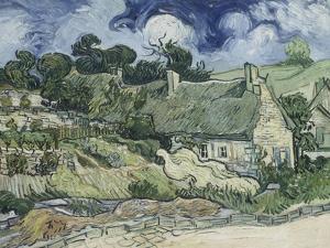 Chaumes de Cordeville à Auvers-sur-Oise by Vincent van Gogh