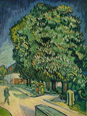'Chestnut Trees in Blossom', 1890 by Vincent van Gogh