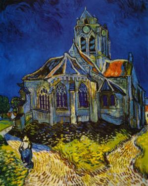 Church at Auvers, c.1893 by Vincent van Gogh