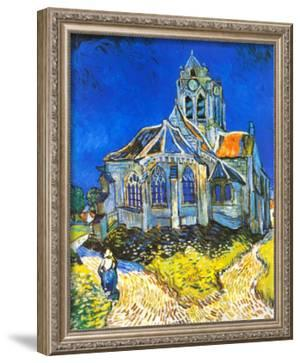 Church at Auvers, c.1895 by Vincent van Gogh