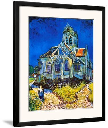 Church at Auvers, c.1896 by Vincent van Gogh