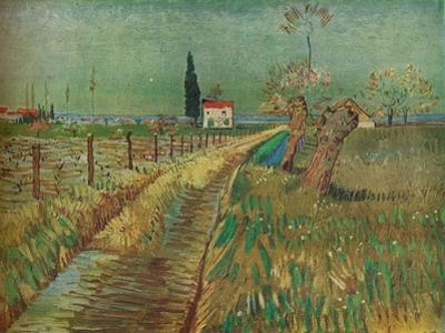 'Cottage Among Fields', c1890 by Vincent van Gogh