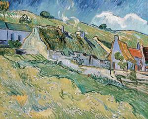 Cottages, 1890 by Vincent van Gogh