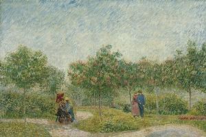 Courting Couples in the Voyer D'Argenson Park in Asnières, 1887 by Vincent van Gogh