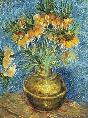 Crown Imperial Fritillaries in a Copper Vase, 1886 by Vincent van Gogh