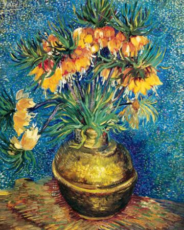 Crown Imperial Fritillaries in a Copper Vase, c.1886 by Vincent van Gogh