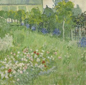 Daubigny's Garden, 1890 by Vincent van Gogh