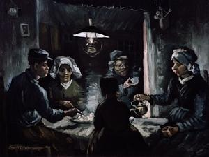 De Aardappeleters (The Potato Eaters) by Vincent van Gogh