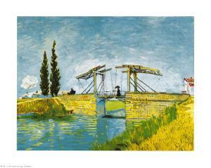 Die Brucke von Lang by Vincent van Gogh