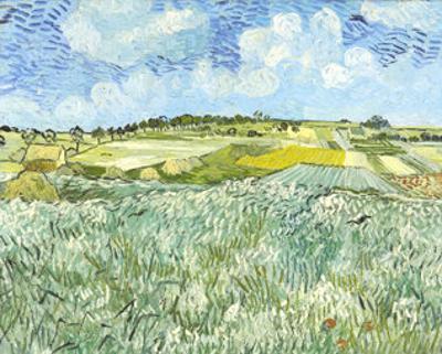 Die Ebene bei Auvers, c.1890 by Vincent van Gogh