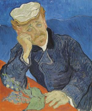 Dr. Paul Gachet, 1890 by Vincent van Gogh