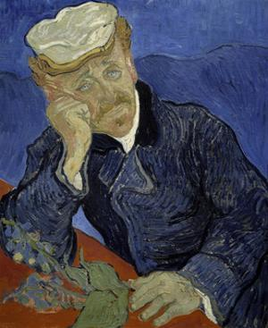 Dr Paul Gachet, 1890 by Vincent van Gogh