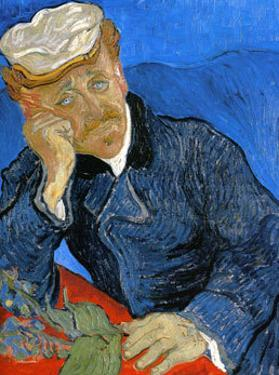 Dr. Paul Gachet, c.1890 by Vincent van Gogh