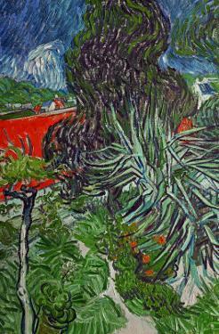 Dr. Paul Gachet's Garden at Auvers-Sur-Oise, c.1890 by Vincent van Gogh