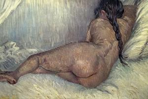Dutch School. Naked Woman, 1887 by Vincent van Gogh