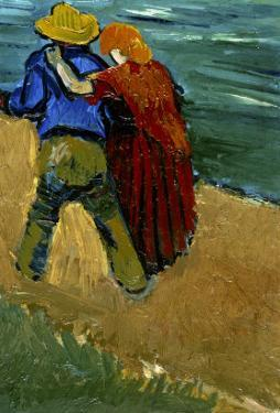 Eglogue En Provence - Un Couple D'Amoureux, 1888 by Vincent van Gogh