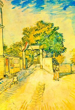Vincent Van Gogh Entrance to the Moulin de la Galette Art Print Poster