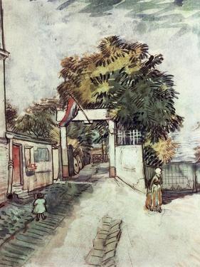 Entrance to the Moulin de la Galette by Vincent van Gogh