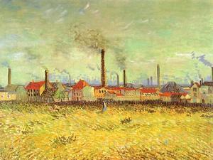 Factories, 1887 by Vincent van Gogh