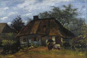 Farmhouse in Nuenen (La Chaumièr) by Vincent van Gogh