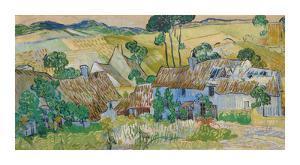 Farms Near Auvers by Vincent Van Gogh