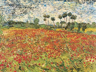 Field of Poppies, Auvers-Sur-Oise, c.1890 by Vincent van Gogh