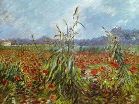 Affordable Field With Poppies Van Gogh Posters For Sale At