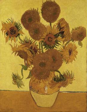 Fifteen Sunflowers by Vincent van Gogh