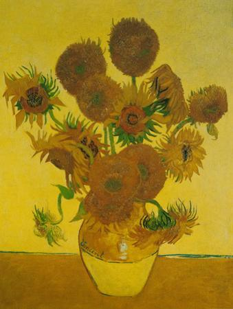 Fifteen Sunflowers by Vincent van Gogh