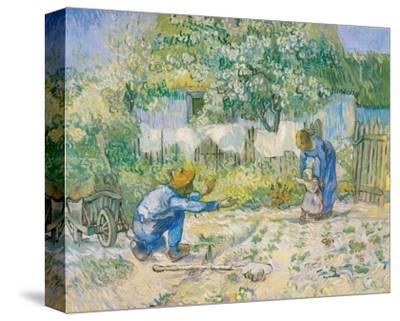 First Steps, c.1890 by Vincent van Gogh