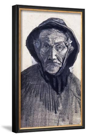 Fishman Wearing a Sou'wester by Vincent van Gogh