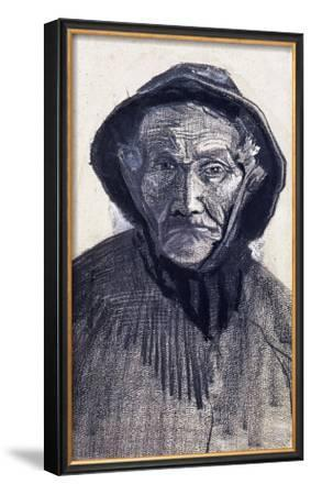 Fishman Wearing a Sou'wester by Vincent van Gogh