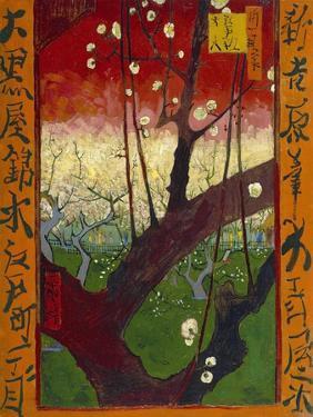 Flowering Plum Tree (After Hiroshige) by Vincent van Gogh