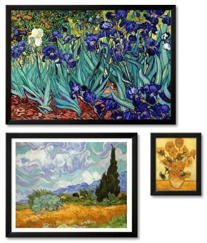 Vincent van Gogh Framed Art Print Set