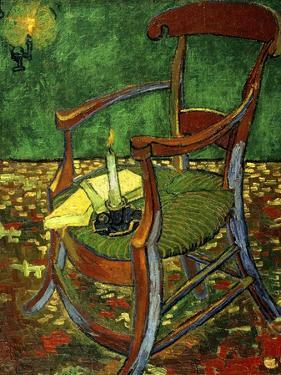 Gauguin's Chair (With Candle), 1888 by Vincent van Gogh