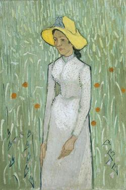 Girl in White, 1890 by Vincent van Gogh