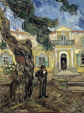 Hospital Saint Paul at Saint-Rémy-De-Provence by Vincent van Gogh
