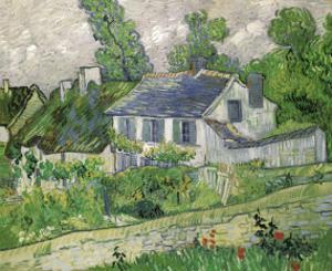 Houses at Auvers, c.1890 by Vincent van Gogh