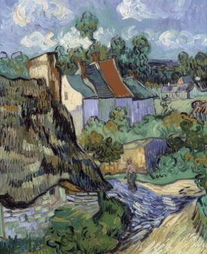 Houses at Auvers by Vincent van Gogh