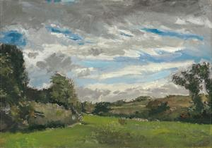 In den Dünen (In de Duinen). Den Haag, September 1883 by Vincent van Gogh
