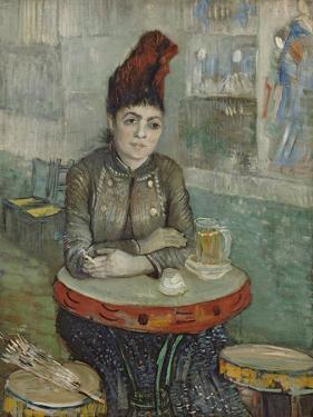 In the Café. Agostina Segatori in Le Tambourin, 1887-1888 by Vincent van Gogh