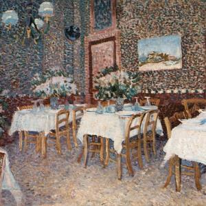 Intérieur d'un Restaurant by Vincent van Gogh