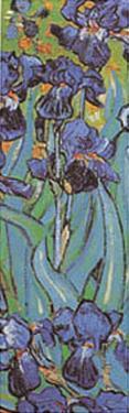 Irises Detail by Vincent van Gogh