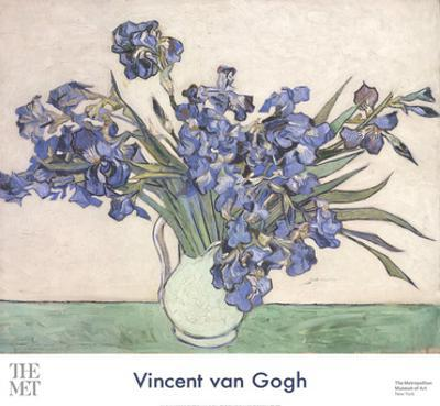 Irises in a Vase by Vincent van Gogh