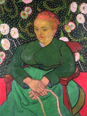 La Berceuse, January 1889 by Vincent van Gogh