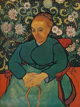'La Berceuse (Portrait of Madame Roulin)', 1889 by Vincent van Gogh