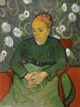 La Berceuse (Portrait of Madame Roulin) by Vincent van Gogh