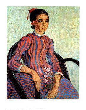La Mousme by Vincent van Gogh