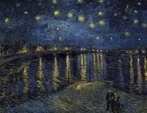 La Nuit Etoilée (Starry Night) by Vincent van Gogh